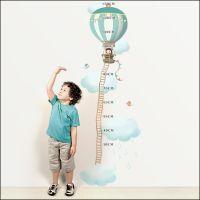 Une adorable toise à coller sur le mur, idéale pour voir grandir votre enfant!