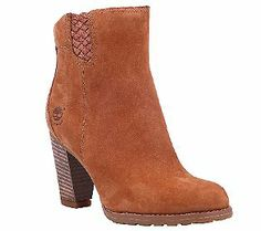 Timberland Earthkeepers Stratham Heights Leather Ankle Boots