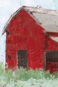 Watercolor Barns, Watercolor Paintings, Watercolour, Canvas Wall Art, Wall Art Prints, Big Canvas, Framed Prints, Canvas Prints, Red Wall Art