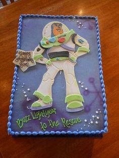 Toy Story Buzz Lightyear Birthday Sheet Cake