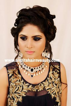 Treat your makeup like jewelry for the face. Play with colors, shapes, structure- it can transform you. Meet the best Makeup Artist for Bridal Makeup, Anu Sen at http://www.amritshairnbeauty.com, or call: 9461088831 #bridalmakeup #bridalmakeover #beautyparlour #makeoversalon #brides #wedding #makeupartist #weddingmakeup #udaipur #beautysalon