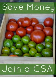 Save Money by Joining a CSA   Real Food Real Deals #healthy #eatlocal #healthyeatingparty