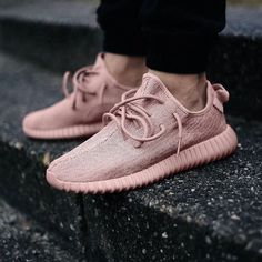 PINK YEEZYS. @thecoveteur
