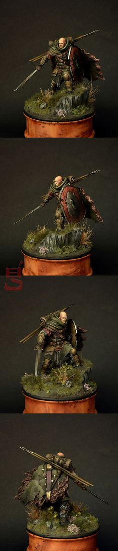 The Internet's largest gallery of painted miniatures, with a large repository of how-to articles on miniature painting Warhammer Fantasy, Warhammer 40k, Statues, Minis, Fantasy Model, Fantasy Miniatures, Mini Paintings, Medieval Fantasy, Miniture Things