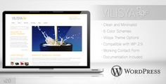 Deals Vilisya - Minimalist Business Wordpress Theme 3so please read the important details before your purchasing anyway here is the best buy