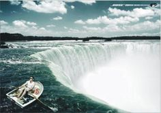 auriculares con cancelación de sonido Bose cataratas del Niagara