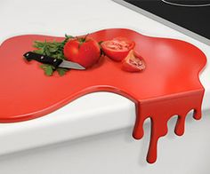 Buy Splash Chopping Board from our wholesale gift shop. Funny Chopping Board, Splash shaped, easy to clean, durable surface. See our other kitchen gadgets and have a fun dining. Kitchen Tops, Red Kitchen, Kitchen Worktop, Quirky Kitchen, Kitchen Board, Crazy Kitchen, Funny Kitchen, Awesome Kitchen, Kitchen Countertops