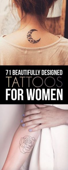 71 Beautifully Designed Tattoos For Women | TattooBlend