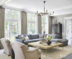 A North Shore Chicago Home Draws From Coastal Influences | LuxeWorthy - Design Insight from the Editors of Luxe Interiors + Design