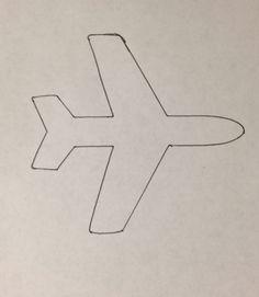 plane template - Google Search