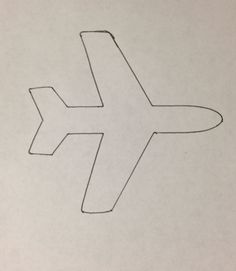 cut out airplane template - unfinished wood airplane cutout woods wood cutouts and