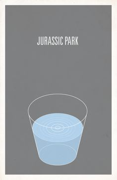 Image of Jurassic Park minimalist movie poster