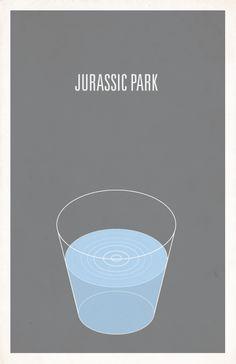 Image of Jurassic Park minimalist movie poster