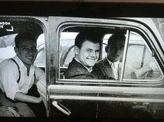 Kray brothers and Johnny Squib