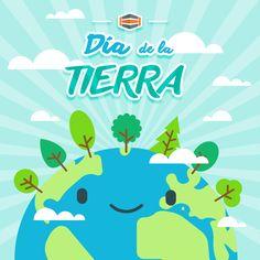 #DíaDeLaTierra 🌎 Este día se estableció para crear una conciencia común a los problemas de la superpoblación, la producción de contaminación, la conservación de la biodiversidad y otras preocupaciones ambientales para proteger la Tierra. #EarthDay #HostDimeTeCuenta 👍