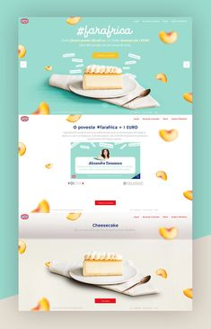 Dribbble - by Delia Website Design Layout, Web Layout, Layout Design, Food Web Design, Menu Design, Bakery Website, Website Design Inspiration, Interface Design, Web Banner