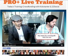 """These guys know exactly what they're doing - Find out what they do differently on KICKSTARTER and why they're attracting UNTOLD attention in this week's Fan Page Summit"""" Marketing Training, Social Marketing, Promote Your Business, Growing Your Business, Social Proof, Social Community, Fan, Guys, Boyfriends"""