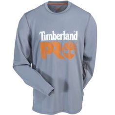 If you need protection from the elements and are tired of Mother Nature's mood swings, then the Timberland PRO Men's TB0A12CI067 Wicking Good Dove Grey Logo Long-Sleeve T-Shirt is perfect for you. This men's tee provides you with protection, durability, comfort, and style - which is everything you need to tackle even your toughest of work days.   #TimberlandPRO #MensWorkWear #WorkWear #BrandsThatWork #WorkingPersonsStore…