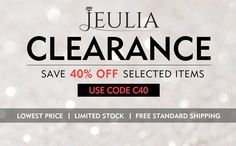Jeulia Online Jewelry Store Offers Wedding Ring Sets, Engagement Rings, Wedding Bands, Skull Rings With High Quality, Fashion Design, Affordable Price, Buy Now For 100% Free Shipping & Coupon Code.