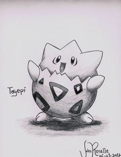 Togepi by johnrenelle on DeviantArt