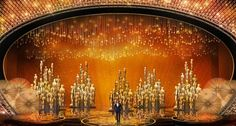 OSCAR 2016 - Swarovski-decorated stage