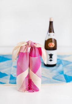 Gorgeous Japanese Scarves that are perfect for wrapping hostess gifts