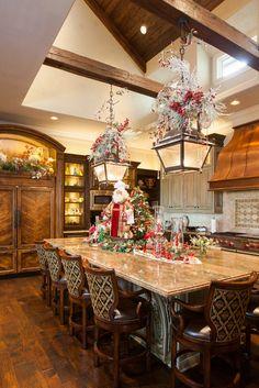 Kitchen Christmas Decorations Ideas.89 Best Kitchen Christmas Decorating Ideas Images