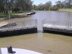 Lock 9 on the Murray River at Mildura