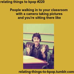D.O you are adorable hahaha this was so me at the end of the year when they're doing stupid pictures for out end of year slide shows lol