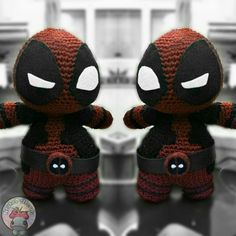 DEADPOOL AMIGURUMI by NoukoPatterns