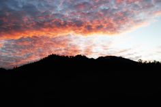 Burning sky at Ijen crater. This is why I love sky so much, everyday is a different view.