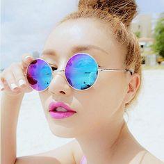 3c4dd01d8d Round Polarized Glasses Men Small Retro Glasses Woman Driving Points --  BuyinCoins.com Circle