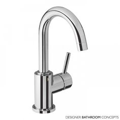 Storm Designer Side Action Basin Mixer With Click Waste - Main Image