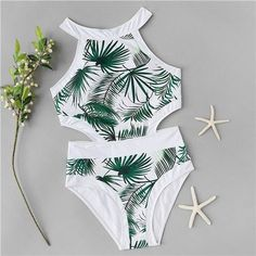 Shop Random Leaf Print Cut-out One Piece Swimsuit online. SHEIN offers Random Leaf Print Cut-out One Piece Swimsuit & more to fit your fashionable needs. Bathing Suits For Teens, Summer Bathing Suits, Swimsuits For Teens, Bathing Suits One Piece, Cute Bathing Suits, Cute Swimsuits, One Piece Swimwear, Women Swimsuits, One Piece Swimsuit For Teens