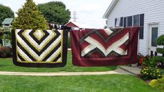 Beautiful quilts can always be found in Lancaster County Pennsylvania.