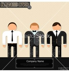 Unusual business cards vector - by epic_fail on VectorStock®