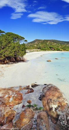 Do you know the blonde beaches of Porto Vecchio? Discover a city where are hidden the most beautiful beaches of France . Holiday Places, Holiday Destinations, Most Beautiful Beaches, Beautiful Places, Corsica Travel, Porto Vecchio, Sea Photo, Paradise On Earth, Summer Landscape