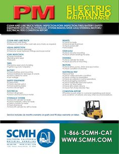 Check out this deal from scmh forklift planned maintenance freedom scmhs planned maintenance program pmp is designed to maintain the upkeep of your lift truck on a scheduled basis reducing high operating fandeluxe Gallery