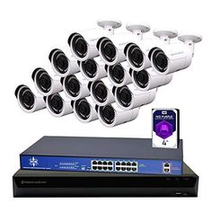 Wireless home security systems Ip Security Camera, Wireless Home Security Systems, Smart Home Security, Security Surveillance, Security Alarm, Security Cameras For Home, Ip Camera System, Home Monitoring System, Bullet Camera