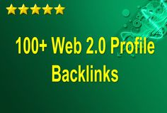 skyROCKET your website ranking with 100+ web 2 0 profile backlinks for $5