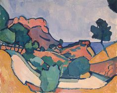 André Derain, Road in the Mountain on ArtStack #andre-derain #art