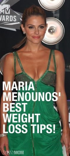Maria Menounos tells how she lost 40 pounds and kept it off for 10 years!