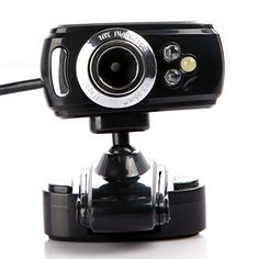 ACOSUN USB 2.0 50.0M 3 LED PC Camera HD Webcam Camera Web Cam with MIC for PC Laptop | Electronics Store