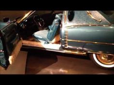 Isaac Hayes' Gold Cadillac at Stax Records Museum, Memphis - http://afarcryfromsunset.com/isaac-hayes-gold-cadillac-at-stax-records-museum-memphis-2/