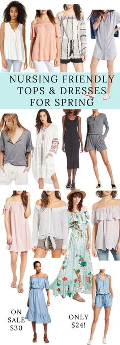 Are you currently nursing? I just rounded up the Best Tops & Dresses for Breastfeeding for April and there are some great, affordable finds!