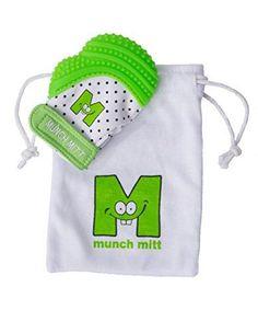 a755be1591 Malarkey Kids Munch Mitt - Green - One Size Malarkey Kids https   www