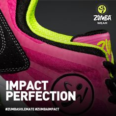 For those who need some cushion for those moves they're pushin'. For the everyday Zumba enthusiasts who crave a little extra support when they break it down. #zumbasolemate #zumbaimpact