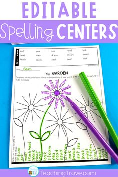 Teaching spelling - 49 Motivating Spelling Activities to teach spelling – Teaching spelling Spelling Word Activities, Spelling Word Practice, Spelling Centers, Spelling Lists, Word Work Activities, Spelling Words, Spelling Ideas, 4th Grade Spelling List, Listening Activities