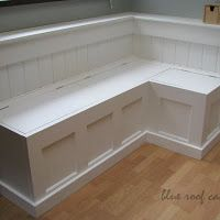 perfect for dinig room, with simple instructions....I have some old doors laying around, too!