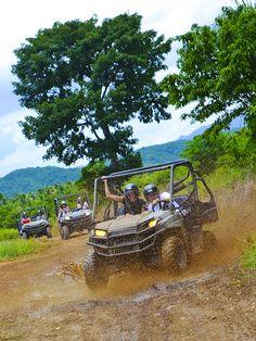 Getting Dirty! Dune Buggy Safari in #Jamaica